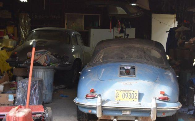 Garage Find! 1961 Porsche 356B 1600 Cabriolet