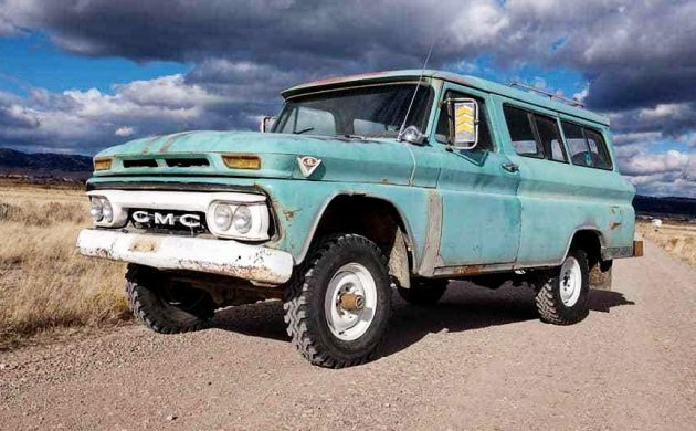Ready To Carry It All: 1965 GMC Suburban