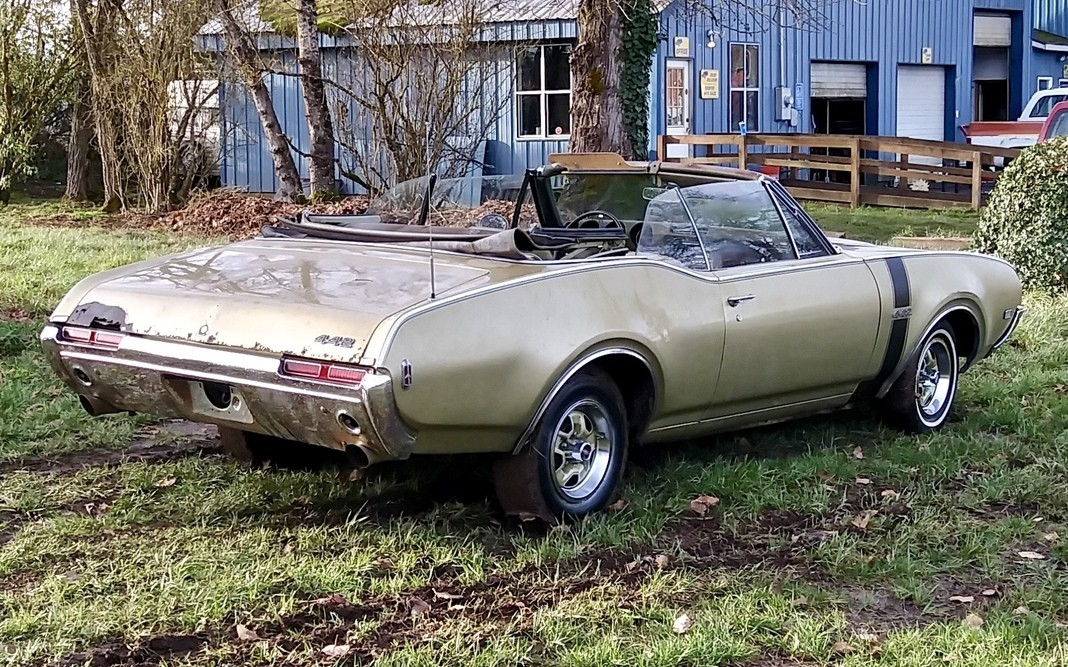 Restore A Muscle Car >> Muscle Project: 1968 Oldsmobile 442 Convertible