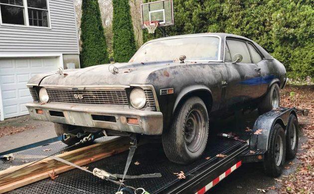 1969 Chevrolet Nova SS Barn Find Project