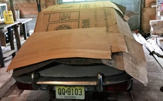 1969 Jaguar E-Type Barn Find Uncovered In NY