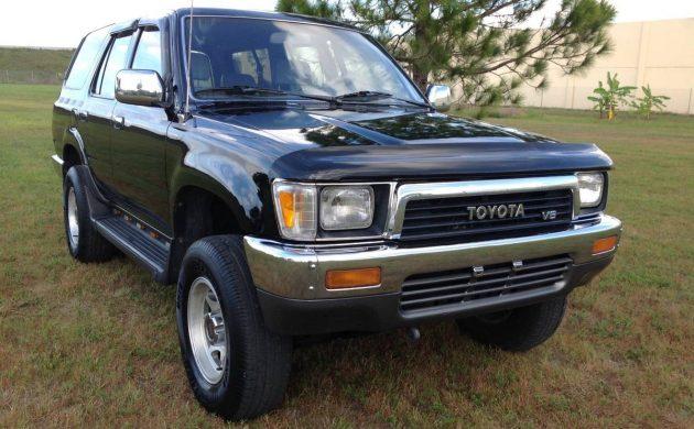 One Owner 1991 Toyota 4Runner