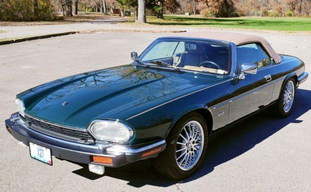 V12 Drop-Top: 1992 Jaguar XJS Convertible