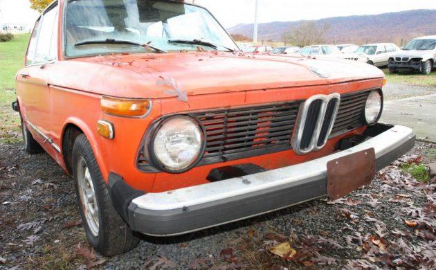 Restorable Tii: 1974 BMW 2002