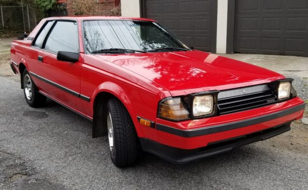 Perfectly Preserved: 58K-Mile 1985 Toyota Celica GT