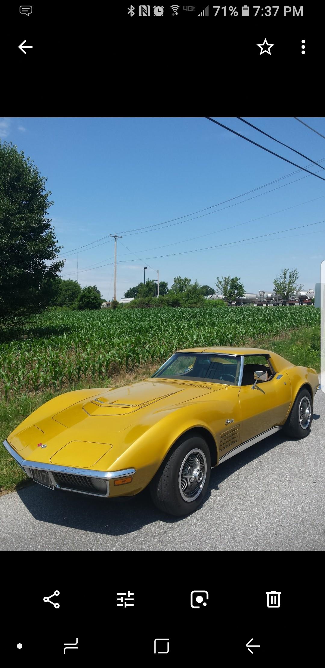 LT1 C3: 1971 Chevrolet Corvette
