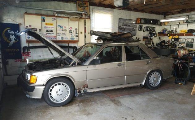 Jeff Bought A Junkyard Cosworth-Mercedes 190E 2.3-16!