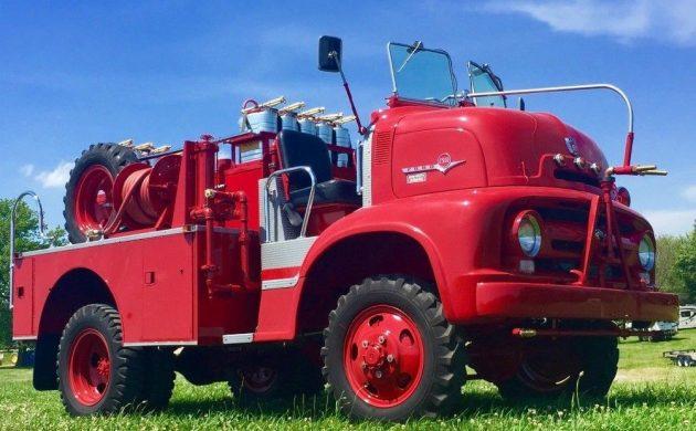 Unique Fire Fighter: 1956 Ford C500 Fire Truck