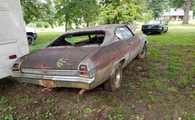 Sitting For Years: 1969 Chevrolet Chevelle SS 396
