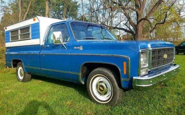 1979 Chevy Truck >> Hidden Auction Gem 1979 Chevy C10