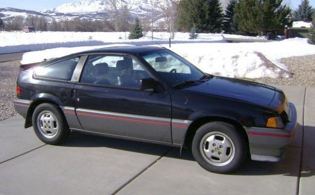 Survivor Rebuild: 1985 Honda CRX Si