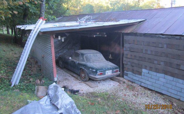 Lean To Find: 1966 Lotus Elan Coupe