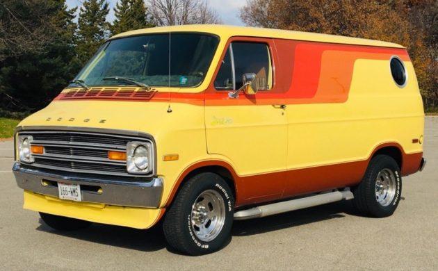 Built 440: 1976 Dodge Street Van Survivor