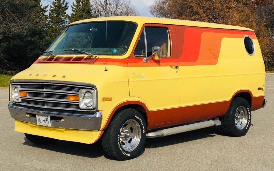 built   dodge street van survivor
