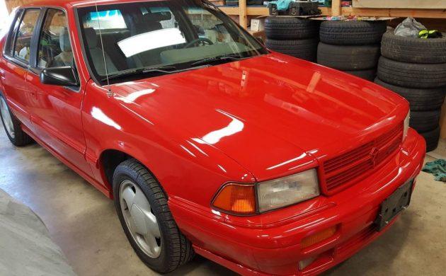 Rarely This Stock: 1991 Dodge Spirit R/T