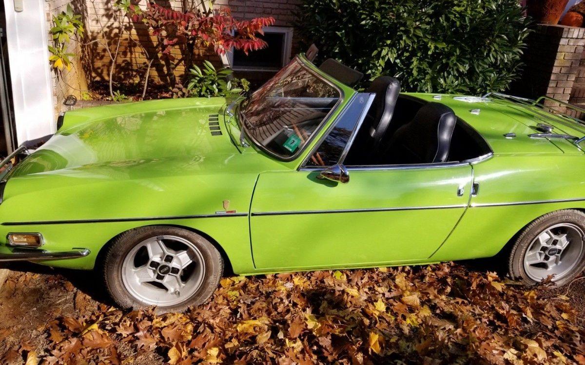 37k Original Miles  1972 Fiat 850 Spider