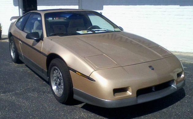 16,000 Original Miles: 1987 Pontiac Fiero GT