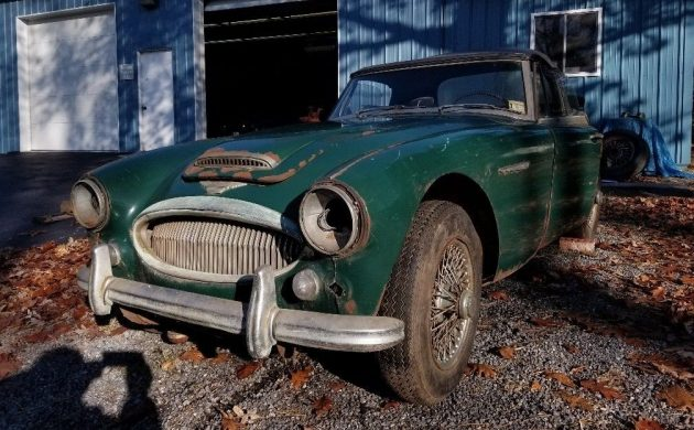 Solid British Classic: 1967 Austin Healey 3000