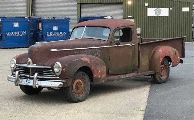 Rare in The UK: 1947 Hudson Pickup