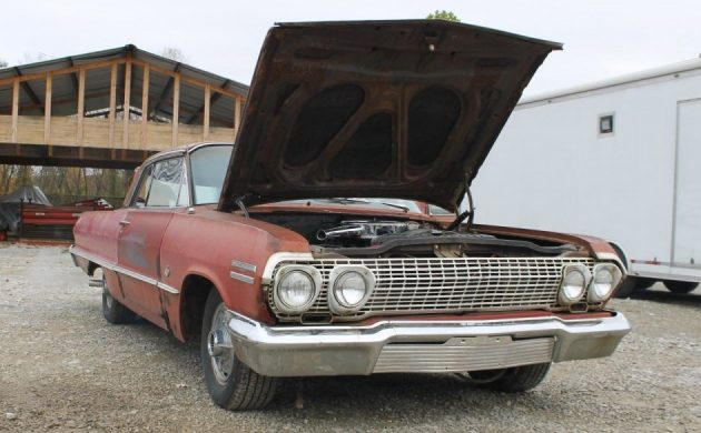 Numbers Matching 409: 1963 Chevrolet Impala SS