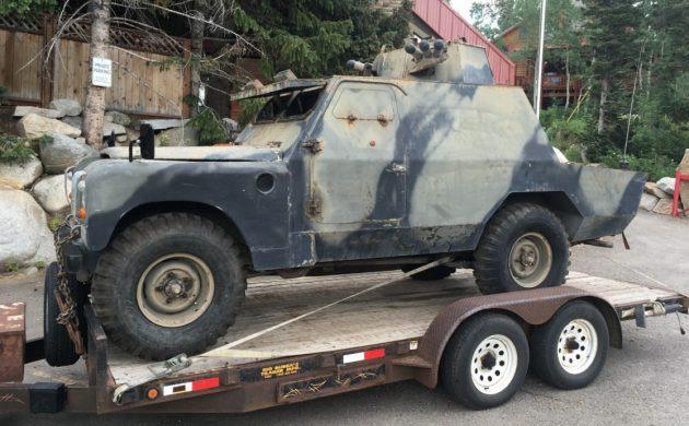British Forces: Shorland Armored Patrol Car