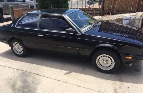 Italian Stallion: 1985 Maserati Biturbo