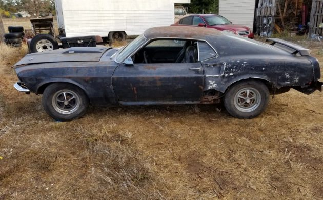 Major Rust Issues: 1969 Ford Mustang Mach 1