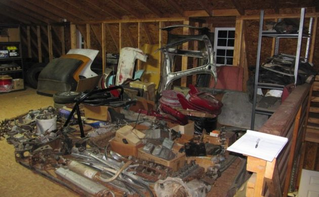 Huge Parts Hoard: Austin-Healey, MG and Triumph Parts