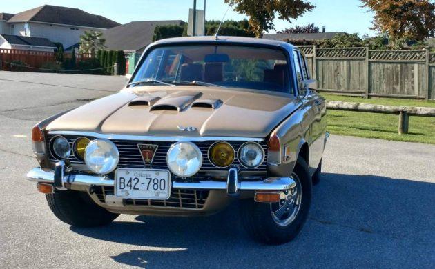 Poor Man's Rolls Royce: 1970 Rover 3500S