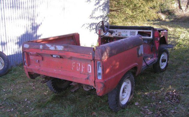 Few Produced: 1967 Ford Bronco Half Cab