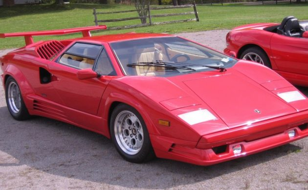 25th Anniversary 1989 Lamborghini Countach