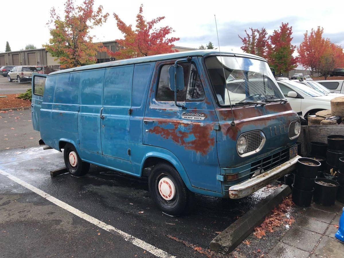 Ford Econoline Truck >> Mechanically Rebuilt: 1967 Ford Econoline Supervan