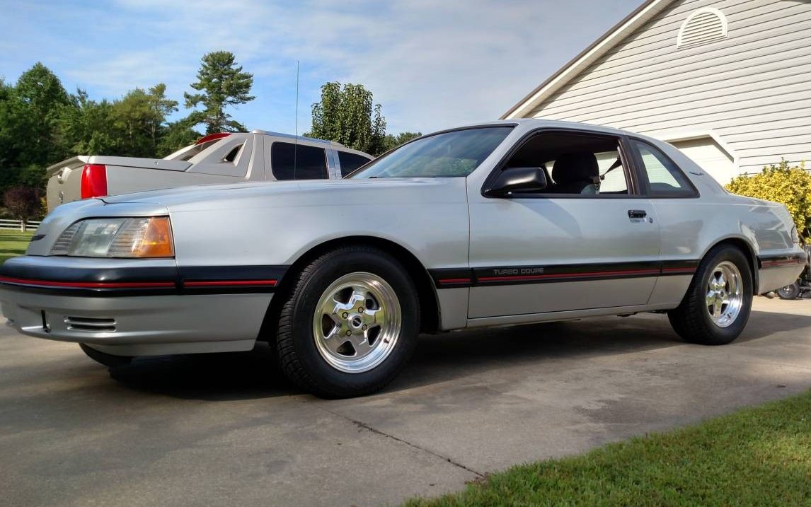 Time Capsule Coupe Ford Thunderbird Turbo