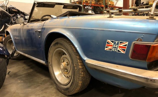 Restore Or Part Out? 1976 Triumph TR6