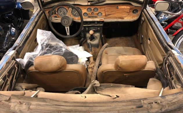 Restore Or Part Out? 1976 Triumph TR6