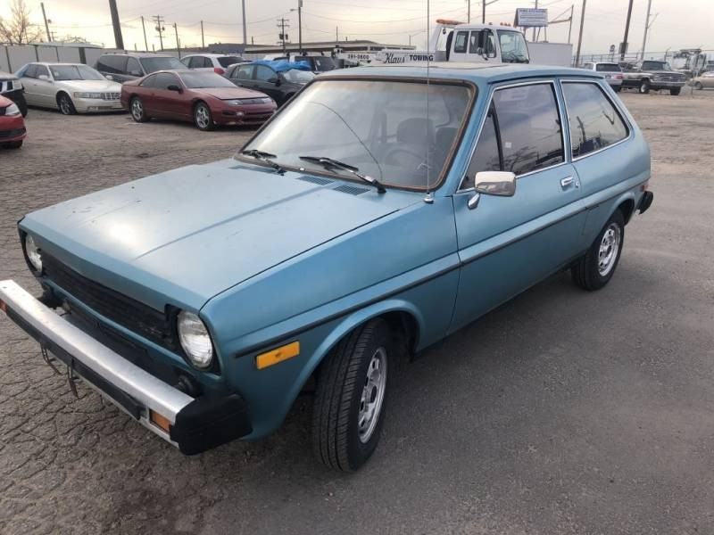 Cars For Sale In Colorado >> Drive It Home For $1,900: 1979 Ford Fiesta