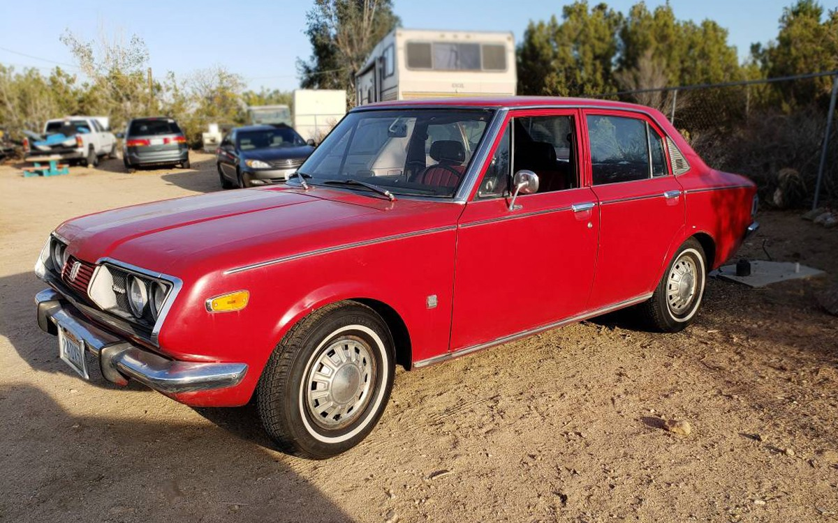 California Corona: 1972 Toyota Corona Mark II