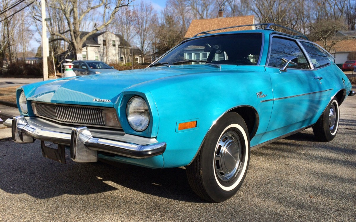 Black Car Paint >> Grab This: 1973 Ford Pinto Runabout