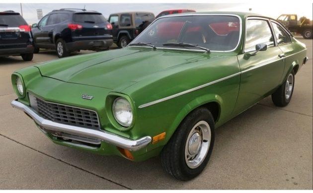 Bone Stock Survivor 1972 Chevrolet Vega