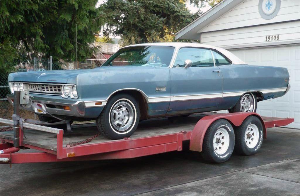 Premium Gas Prices >> Original W23 Recall Wheels! 1969 Plymouth Fury VIP
