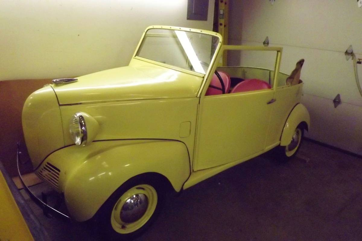 Falling From The Sky: 1939 Crosley Convertible - Barn Finds