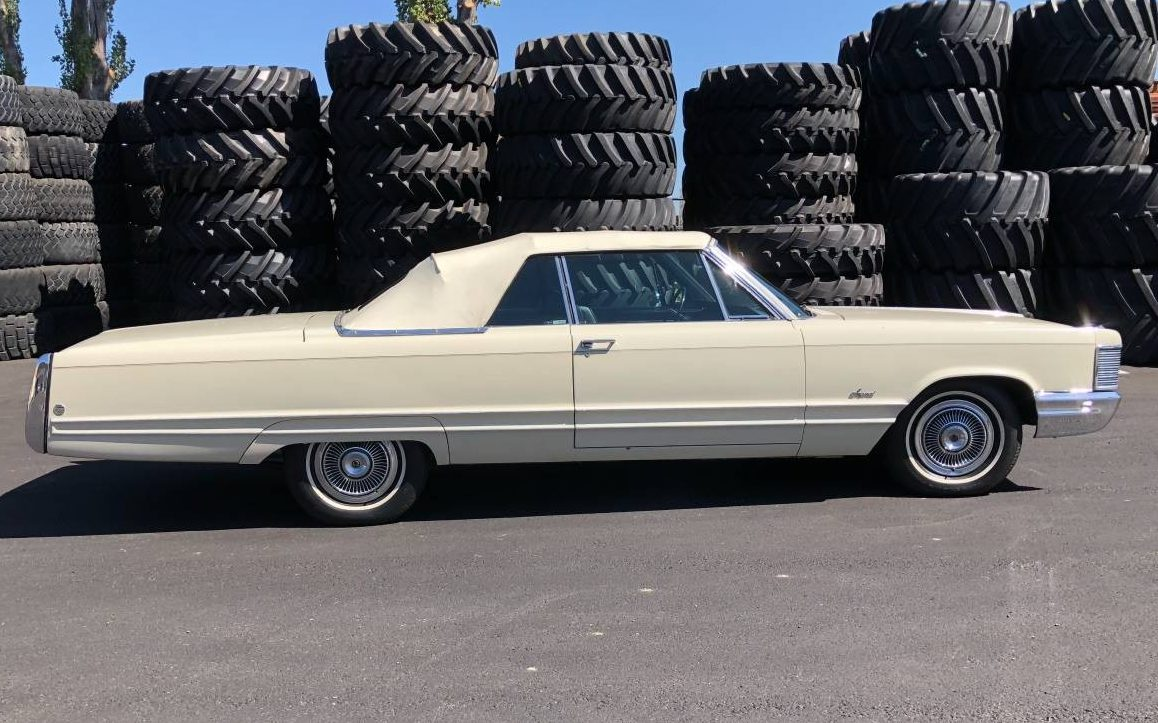 Last Year Of Convertible 1968 Imperial Crown Convertible