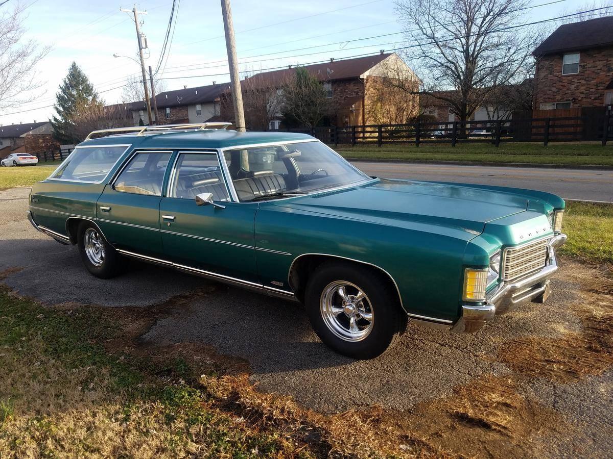400 Engine With Quadrajet: 1971 Chevrolet Kingswood