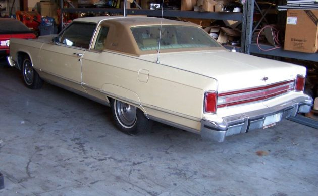 One Family Owned 1978 Lincoln Continental Town Coupe