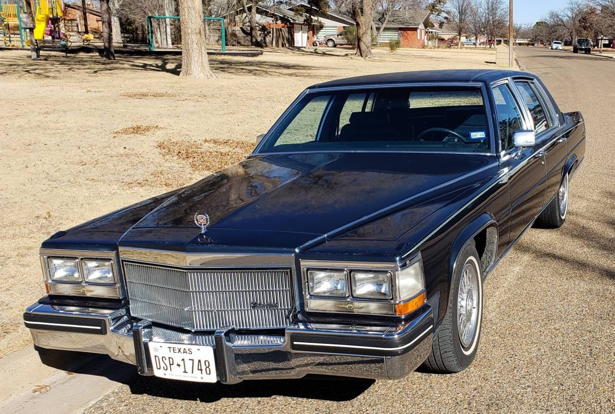 Only 43k Miles 1985 Cadillac Fleetwood Brougham