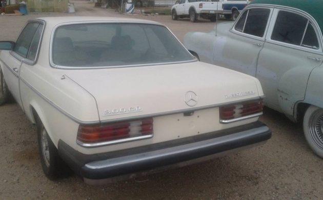 Diesel Coupe: 1981 Mercedes 300CD