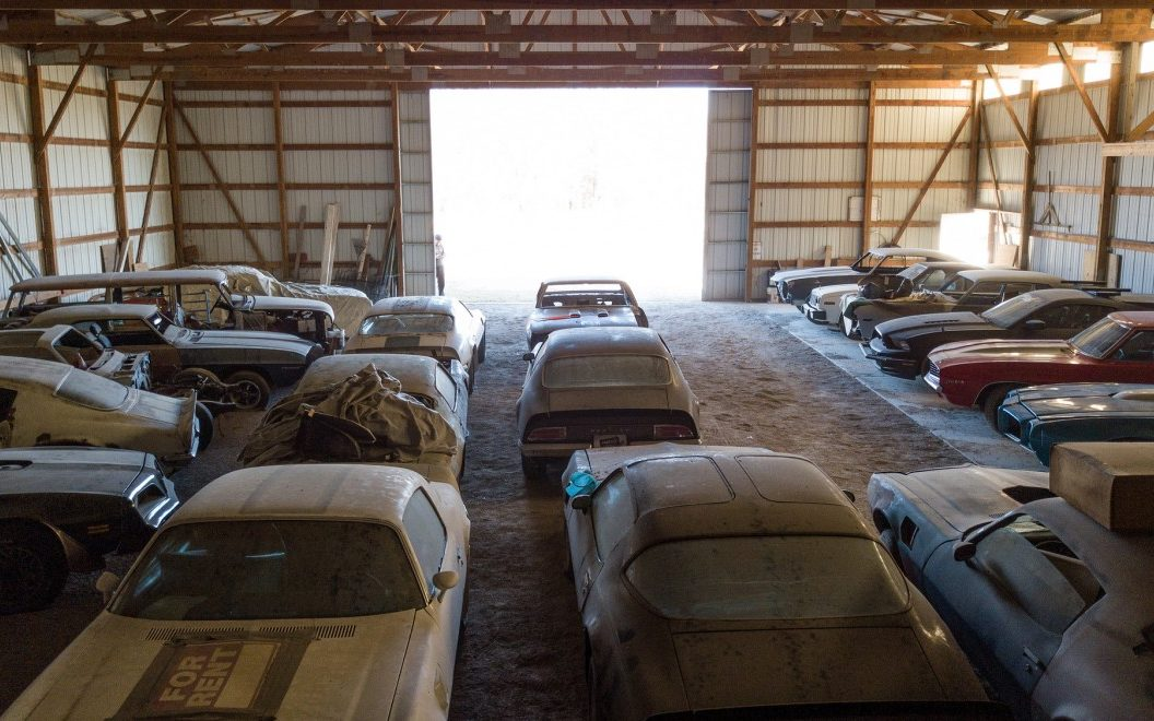 Listing All Cars >> Barn Full Of Classic Muscle Cars