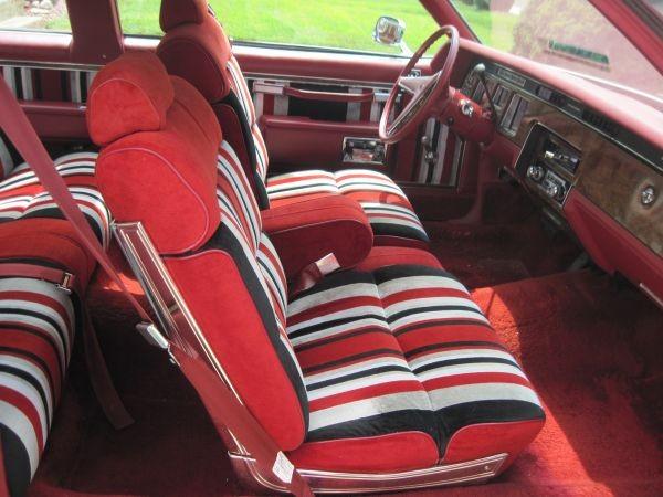 Wild Interior 1977 Pontiac Bonneville Brougham