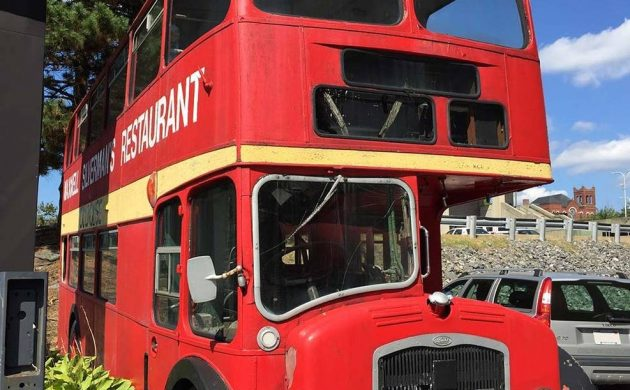 On The Buses: 1960 Bristol Double Decker Bus