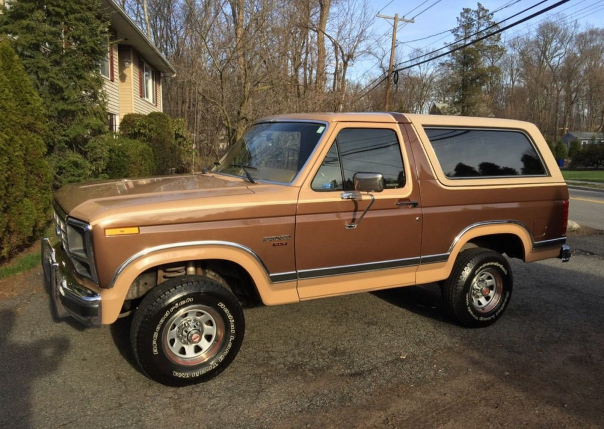 New Ford Bronco >> Like New: 1984 Ford Bronco XLT